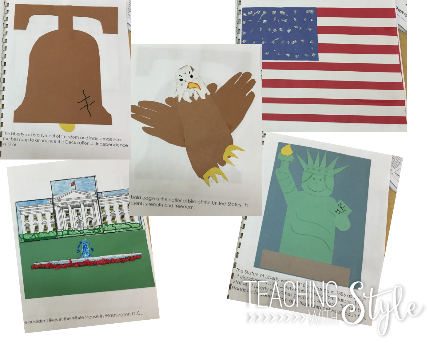 American Symbols   Teaching With Style [ 1116 x 1395 Pixel ]