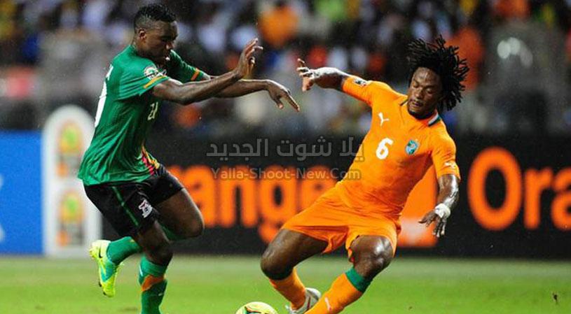 بهدف وحيد منتخب ساحل العاج يتغلب على منتخب زامبيا في بطولة أفريقيا تحت 23 سنة