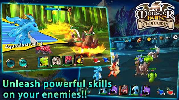 Monster Hunt Academy Apk