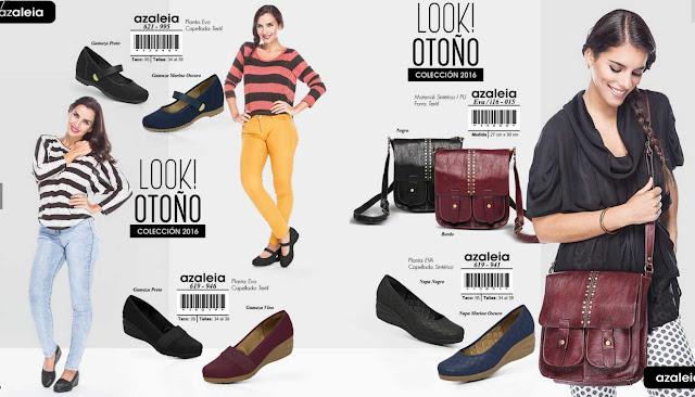 Zapatos azaleia temporada otoño 2016
