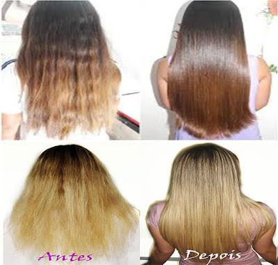 cabelos reconstrução