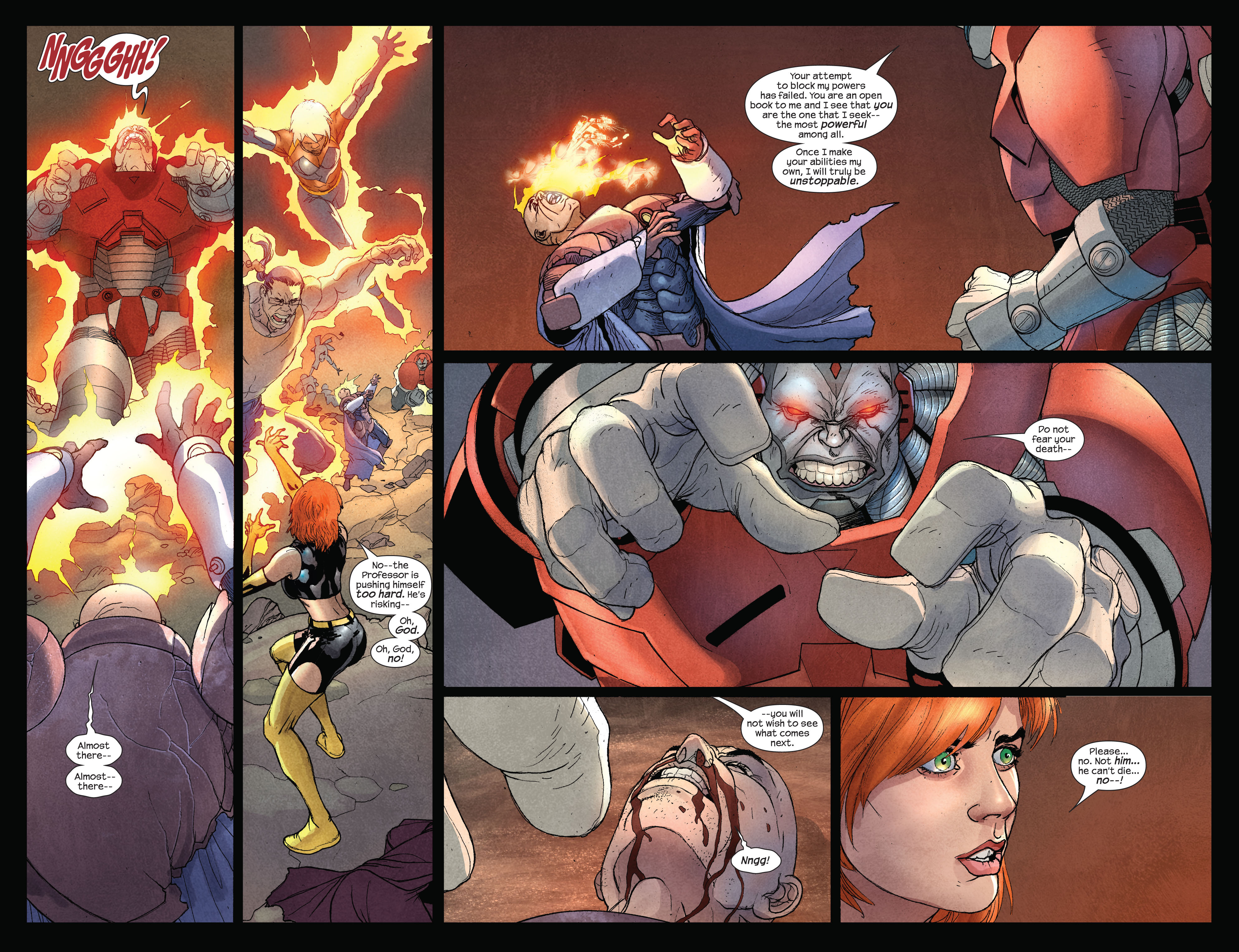 Read online Ultimate X-Men comic -  Issue #92 - 11