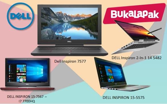 Beli Laptop Dell Baru di Buka Lapak