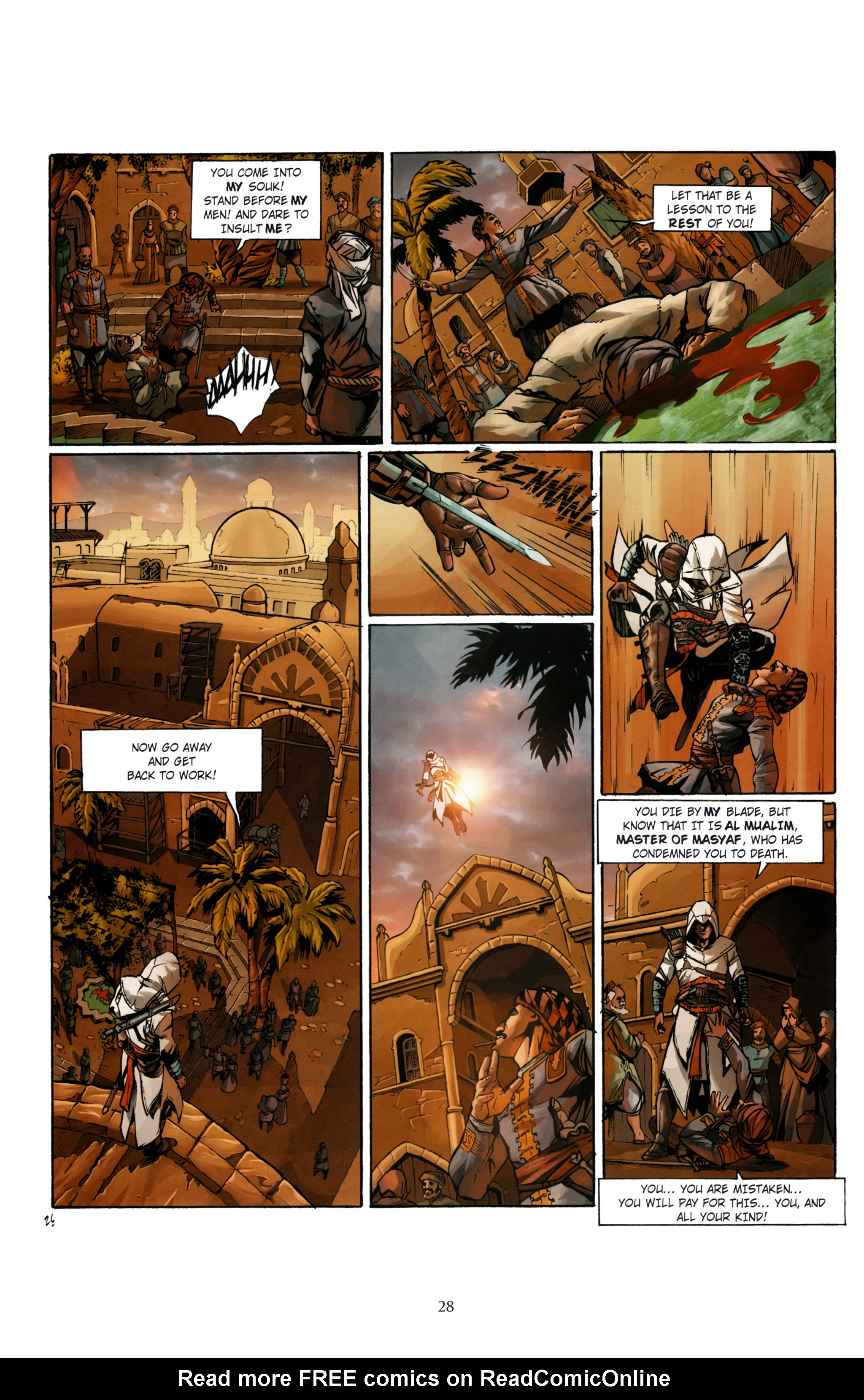 Read online Assassin's Creed (2012) comic -  Issue #1 - 32