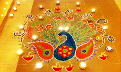 Best Rangoli Designs for Diwali 2018 for home  & shop