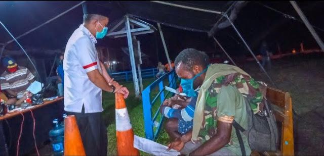Chaerul Anwar Berikan Arahan kepada Pengguna Transportasi Air di Boven Digoel