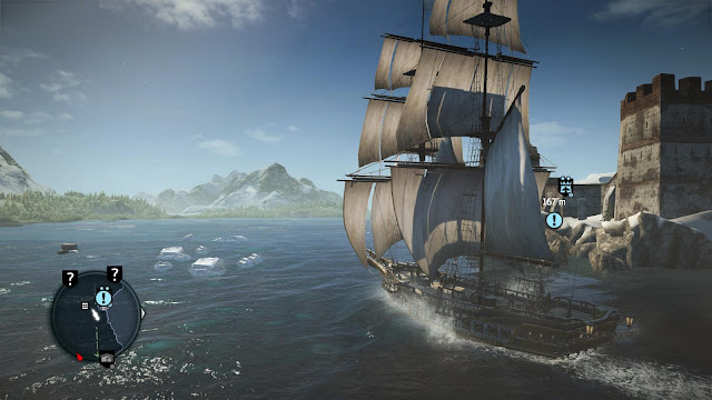 Assassin's Creed: Rogue - Xbox 360 - Captura 1