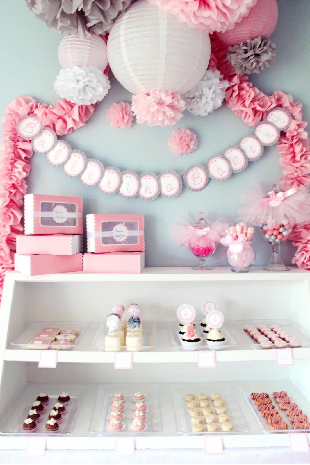 Icing Designs Ballerina Bakery Birthday Party Part 1