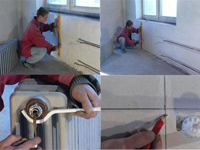 Монтаж отопления своими руками в частном доме