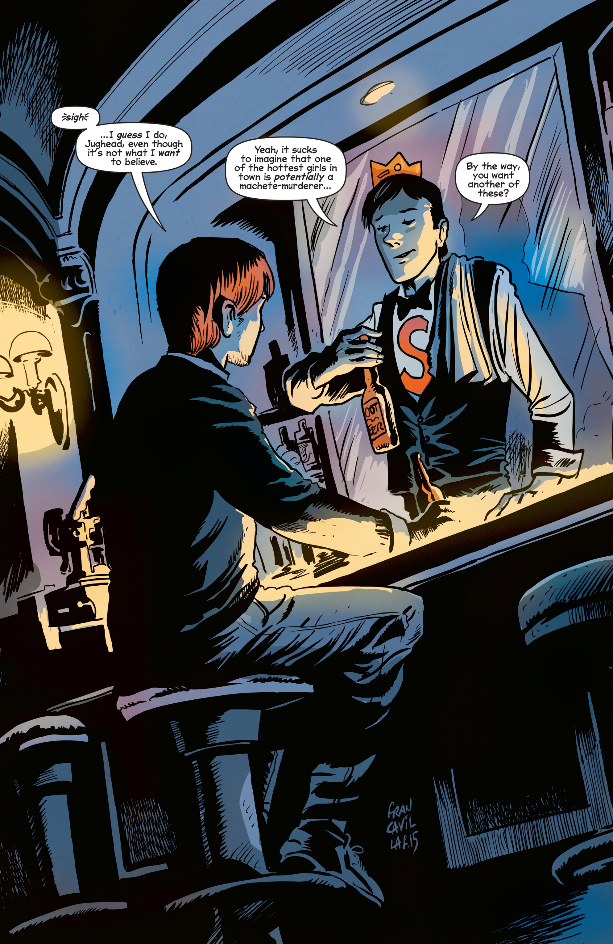 Read online Afterlife with Archie comic -  Issue #8 - 6