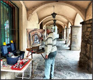 AVINYÓ-PINTURA-PAISATGES-PINTORS-CONCURS-ARCS-FOTOS-ARTISTA-PINTOR-ERNEST DESCALS-