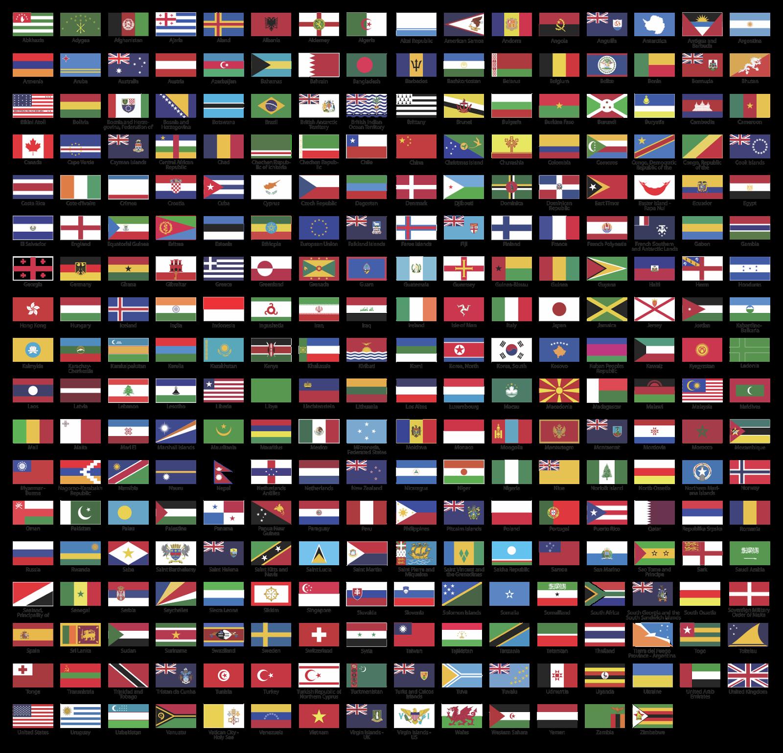Welt Fahne