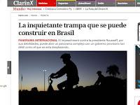 Imprensa internacional alerta sobre instabilidade econômica caso Dilma seja impedida; veja