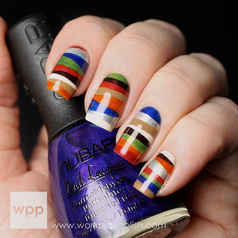 Nubar Wild West Collection Nail Art
