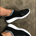 Mesh Slip On Athletic Sneakers
