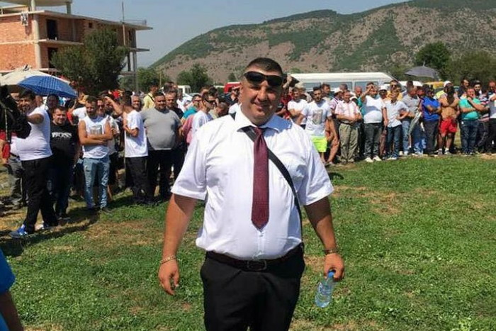 Macedonia: Independent List Carrier Shot in Kicevo