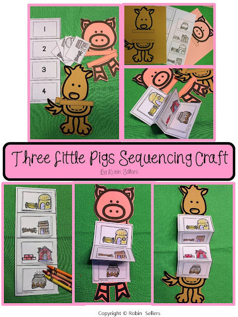 three little pigs sequencing activity