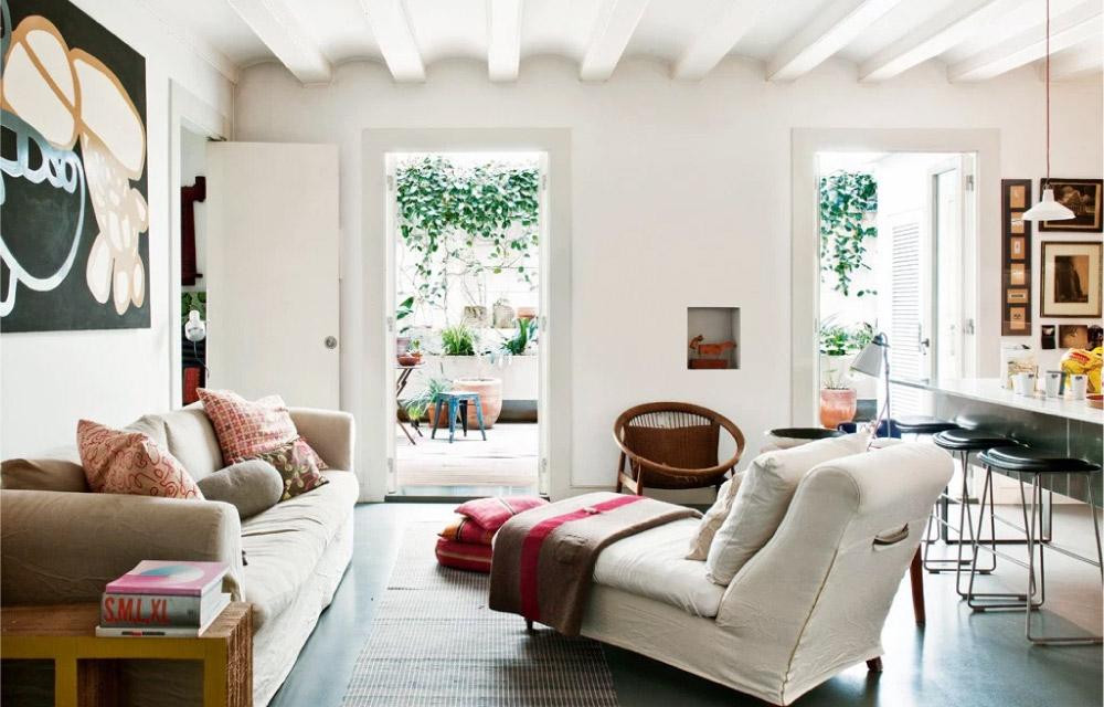 Una casa in citt con cortile interno  Blog di arredamento e interni  Dettagli Home Decor
