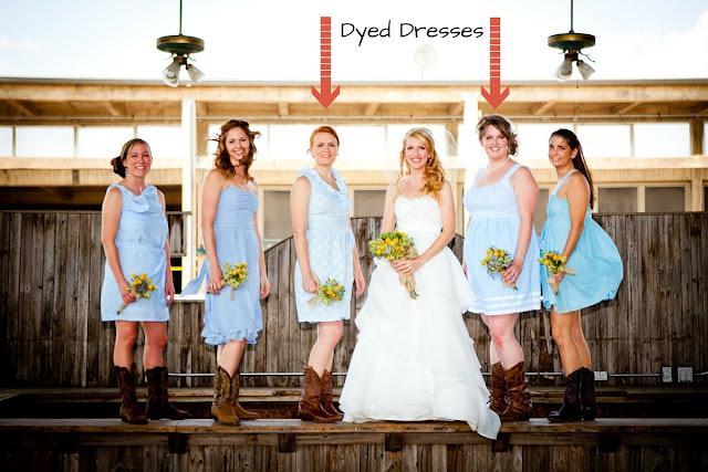 Dye a dress