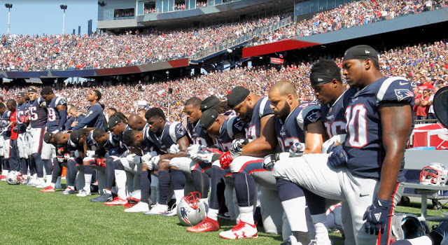 OPINION:  The New England Patriots Acted Like True Patriots Yesterday As Did Many Other NFL Teams In Reaction To President Trump's Statement.
