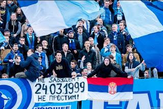 Ultras Not Reds Zenit Fans For Nato Bombings In Serbia