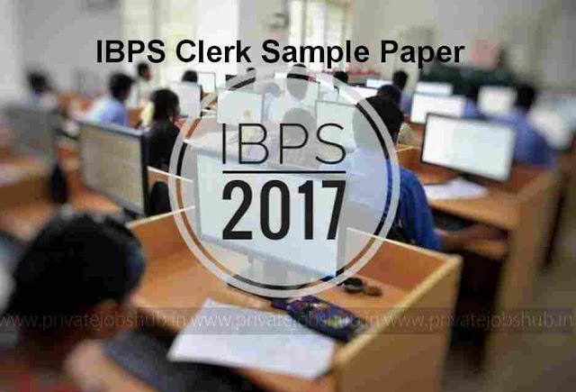IBPS Clerk Sample Paper