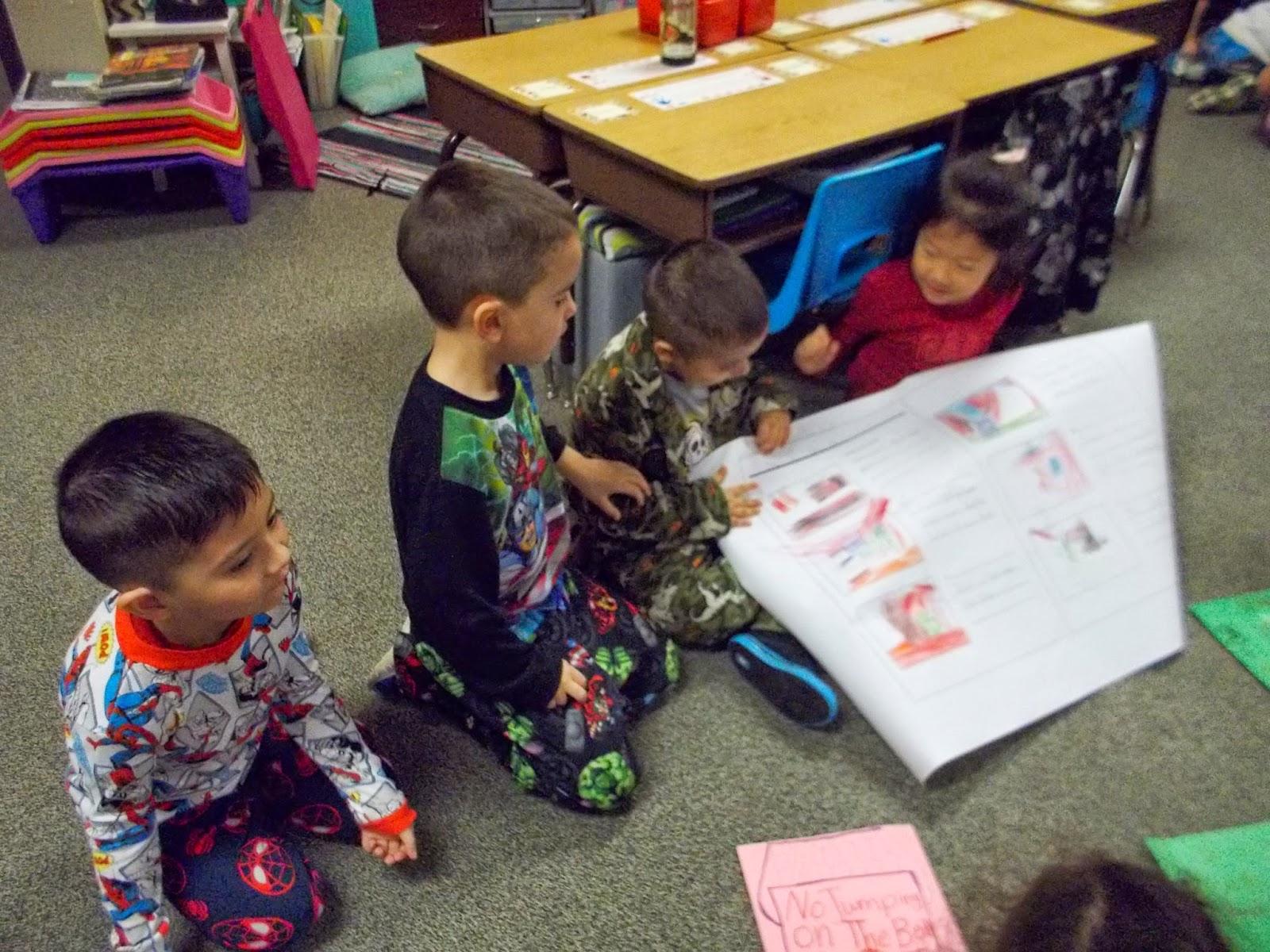 Kindergarten Love Pajama Day