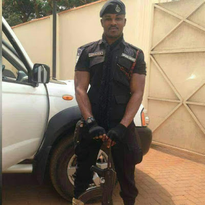 Photos: Handsome Police officer shot dead by unknown gunmen in Ghana