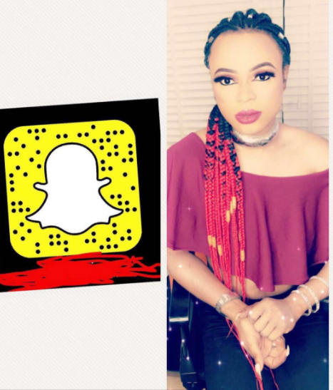 Bobrisky cuts down his snapchat subscription from 10k to 5k.