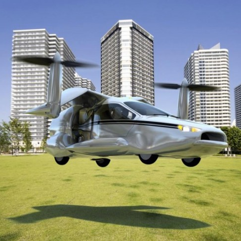 Terrafugia the World's first Flying Car