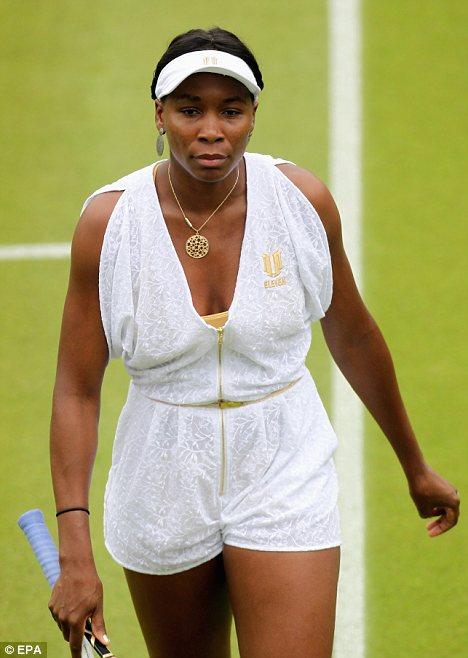 Venus Williams Gewicht