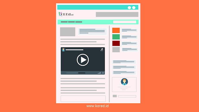 Menambahkan Video Dari Youtube ke dalam Blog - Kored ID