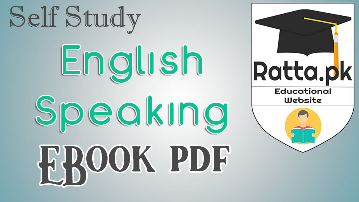 Self Study English Speaking Pdf