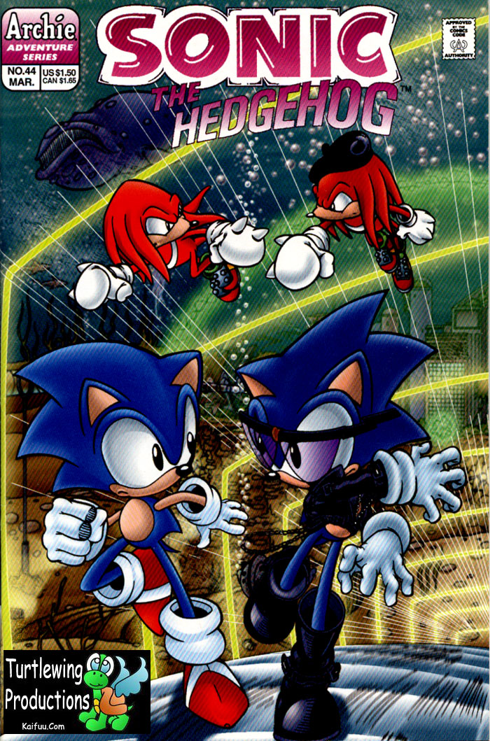 Sonic The Hedgehog (1993) 44 Page 1