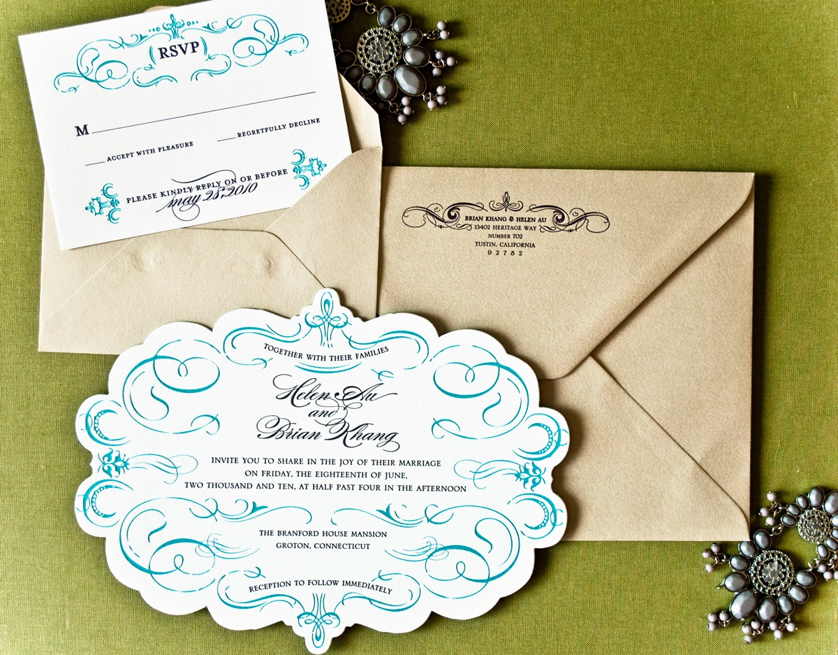 Gorgeous Wedding Invitations: Fall Autumn Wedding Invitations: Beautiful Wedding Invitations