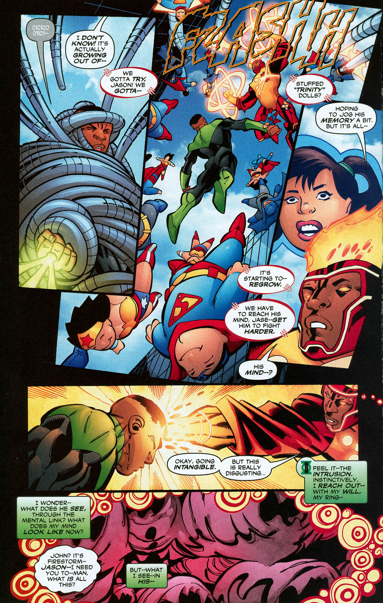 Read online Trinity (2008) comic -  Issue #21 - 28