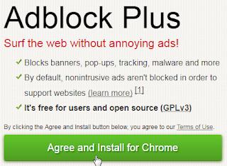 Cara Menghilangkan Iklan Di Browser Firefox dan Chrome