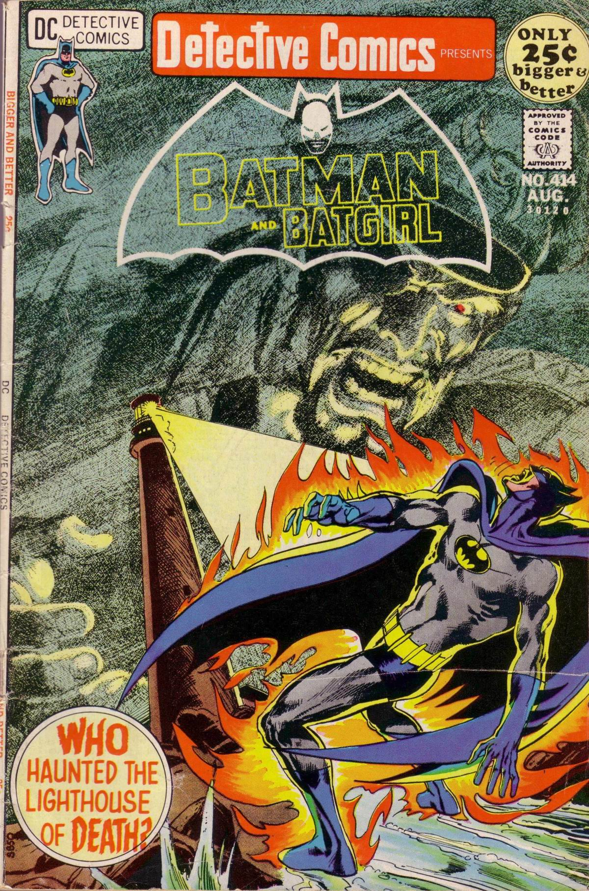 Detective Comics (1937) 414 Page 0