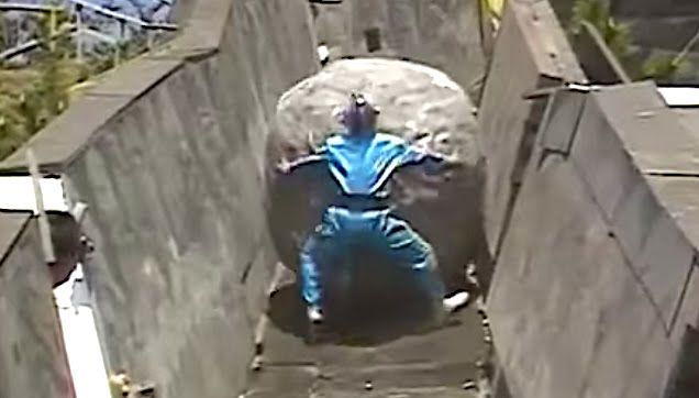 Takeshi's Castle Funny Physical Challenge