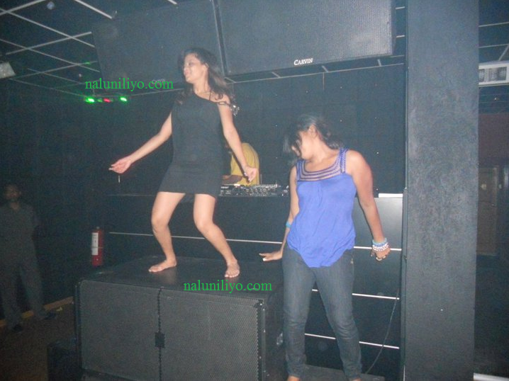 Menaka Maduwanthi drunk dance night club