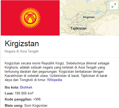 Kirgystan