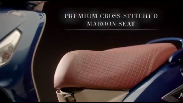 TVS Jupiter Grande Premium Marron Seat