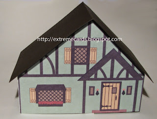 shelf village green Tudor doll house