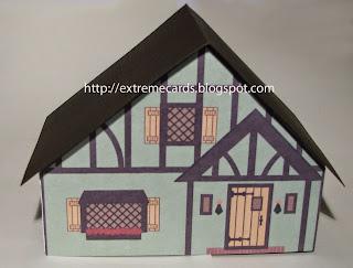 shelf village green Tudor doll house