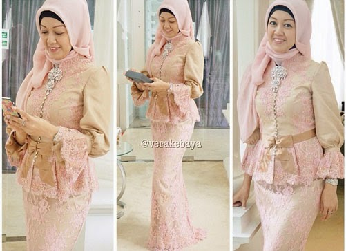 20 Kebaya Muslim Modern Dengan Model Terbaik Meenikah Com