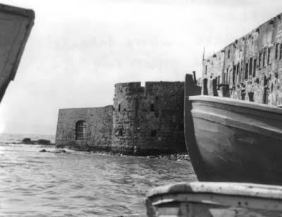 Историческая фотография Акке - городе, где Бахаулла был в изгнании.