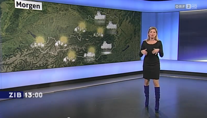 Maira rothe weather girl 9