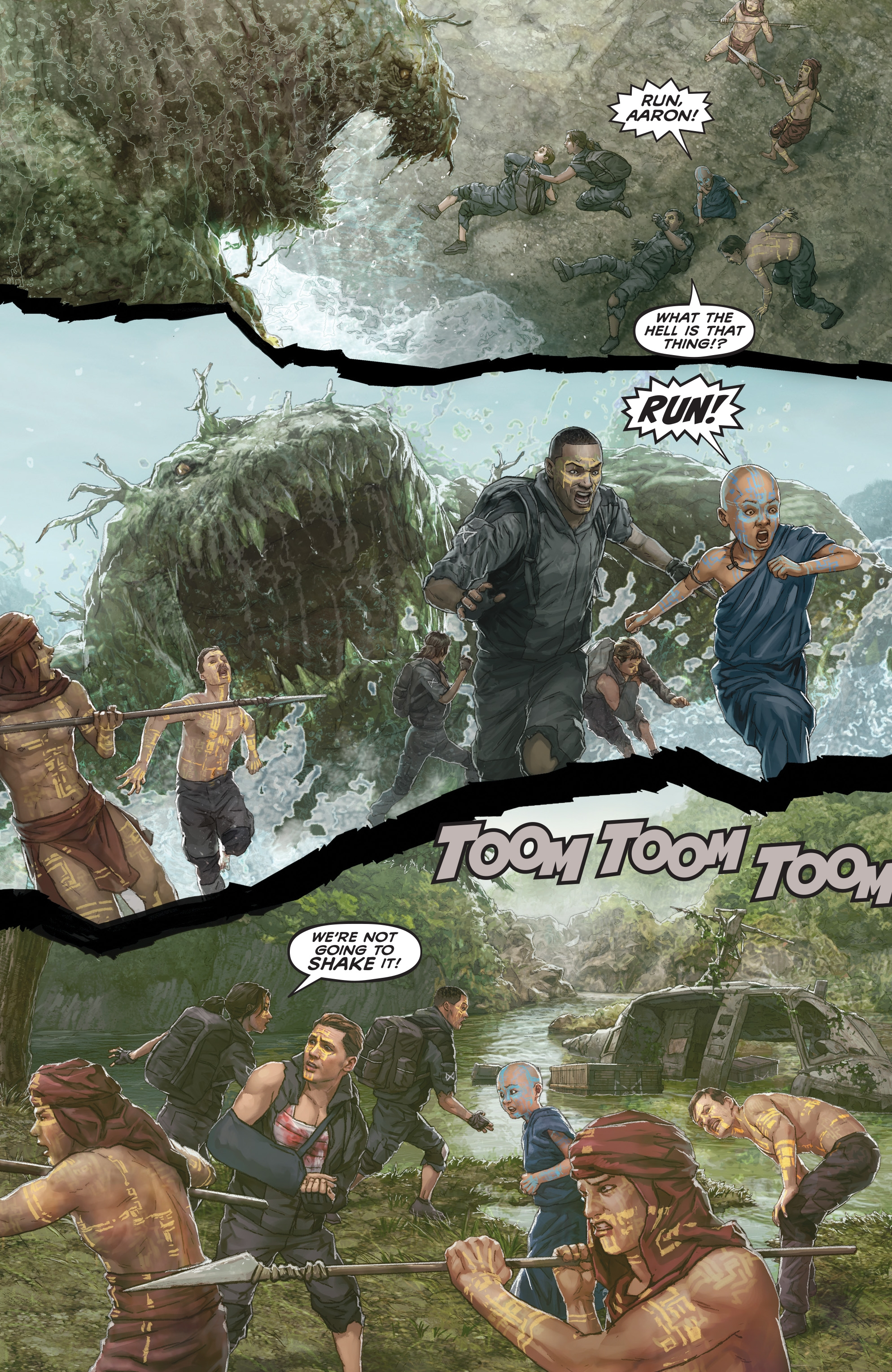 Read online Skull Island: The Birth of Kong comic -  Issue #2 - 18