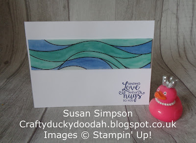 Craftyduckydoodah!, Graceful Glass Designer Vellum, June 2018 Coffee & Cards Project, Stampin Up! UK Idependent Demonstrator Susan Simpson, Supplies available 24/7 from my online store,