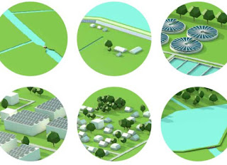 Illustratie cover Werkboek energietransitie Waterschap Vallei en Veluwe